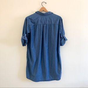 ATM Anthony Thomas Melillo Dresses - ATM Anthony Thomas Melillo Chambray Shirt Dress